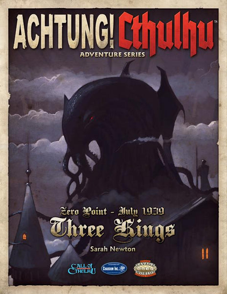 Achtung! Cthulhu - Zero Point - Three Kings - Revised Edition - Print & PDF Bundle