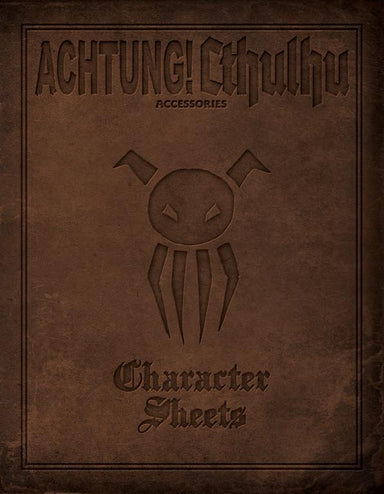 Achtung! Cthulhu - Character Sheets - PDF