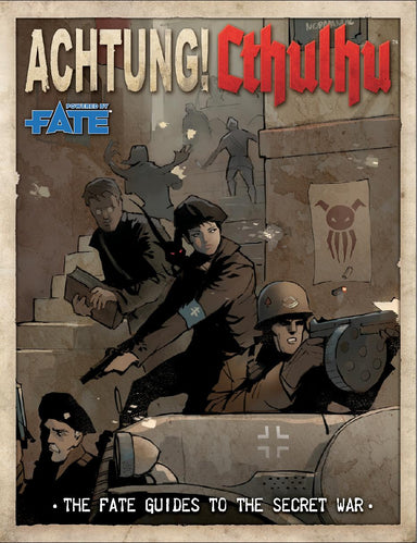 Achtung! Cthulhu: Fate Guide to the Secret War - Modiphius Entertainment