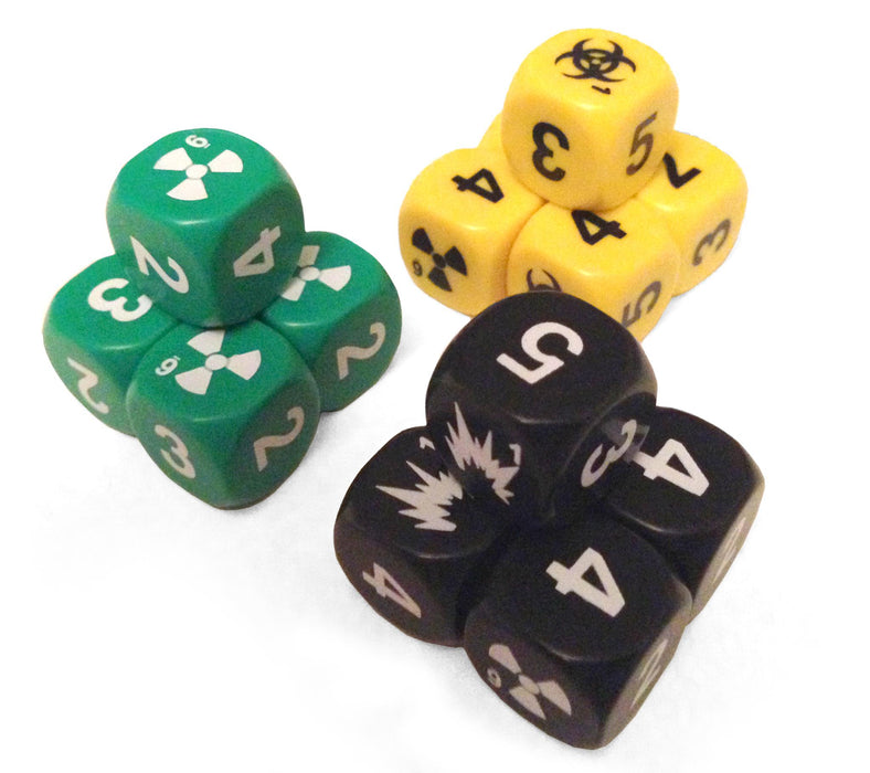Mutant: Year Zero Dice Set - Modiphius Entertainment