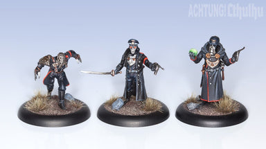 Achtung! Cthulhu Miniatures - Nazi Villains: Black Sun - Modiphius Entertainment