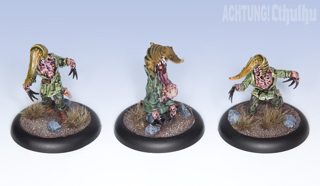 Achtung! Cthulhu Miniatures - Mythos Creatures - Servitors of Nyarlathotep