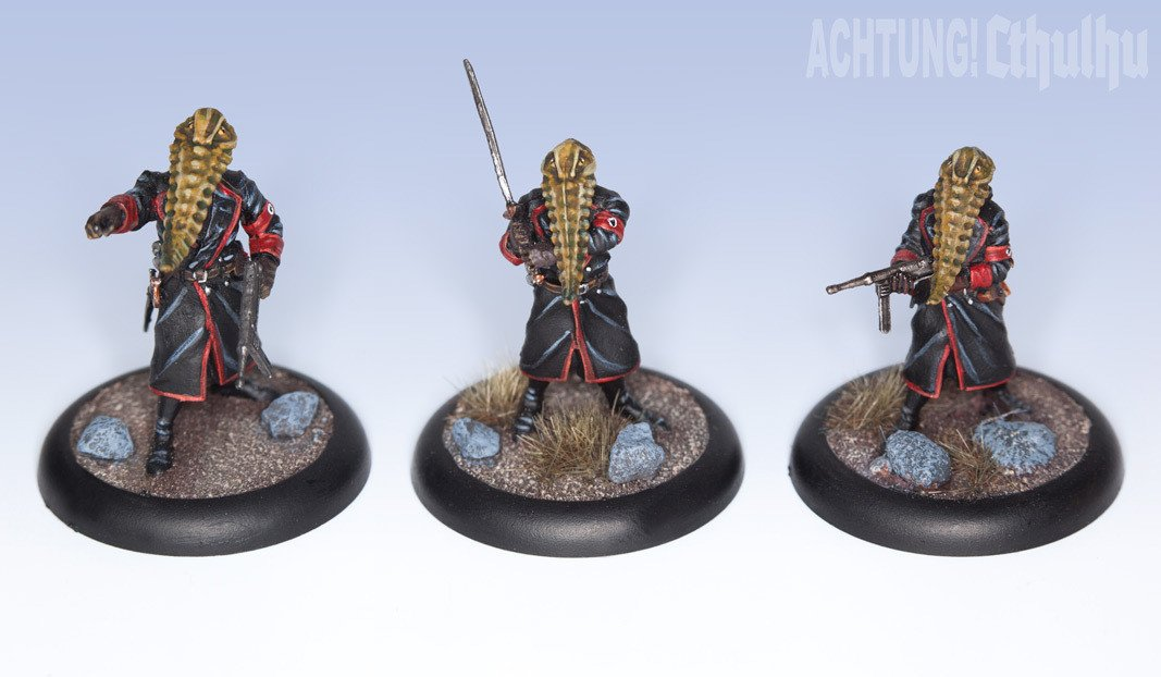 Achtung! Cthulhu Miniatures - Mythos Creatures - Servitor Overlords of Nyarlathotep