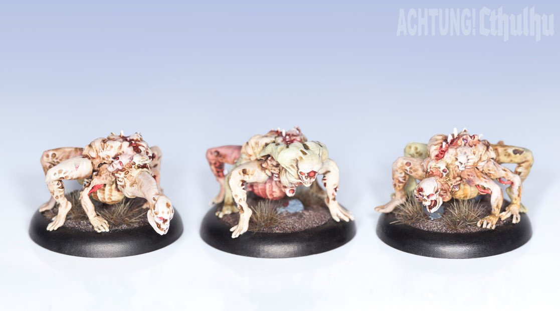 Achtung! Cthulhu Miniatures - Mythos Creatures - Die Draugar - Modiphius Entertainment