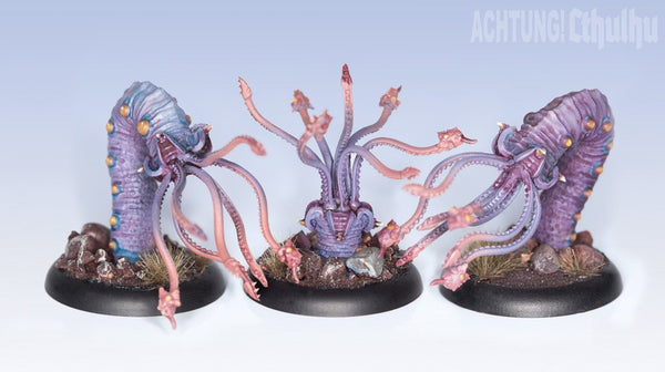 Achtung! Cthulhu Miniatures - Mythos Creatures - Chthonians