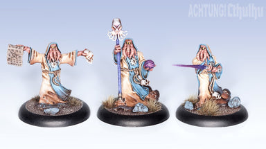 Achtung! Cthulhu Miniatures - Mythos Creatures - Cultists of the Old Gods