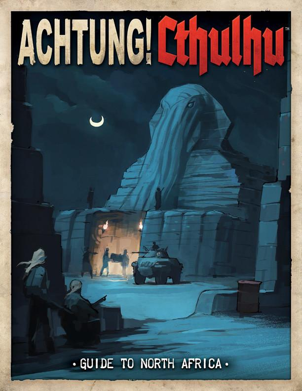 Achtung! Cthulhu - Guide to North Africa - Print & PDF Bundle