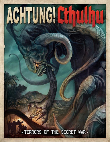 Achtung! Cthulhu - Terrors of the Secret War - Print & PDF Bundle