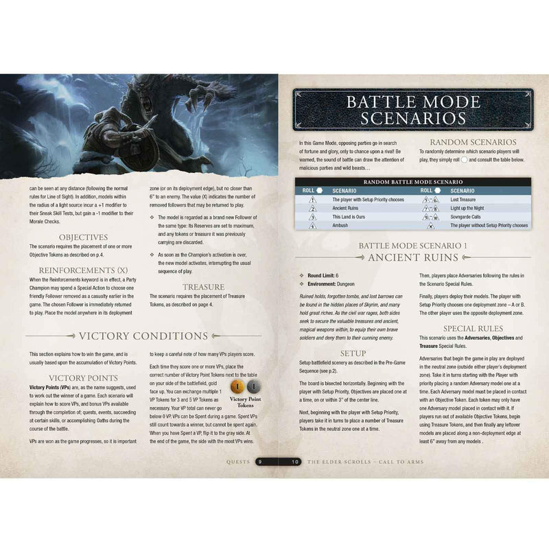 The Elder Scrolls Call To Arms Quests - PDF