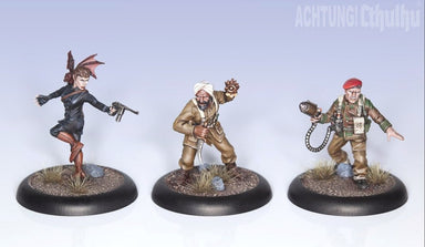 Achtung! Cthulhu Skirmish: Army Bundle 1 - Section M - Modiphius Entertainment
