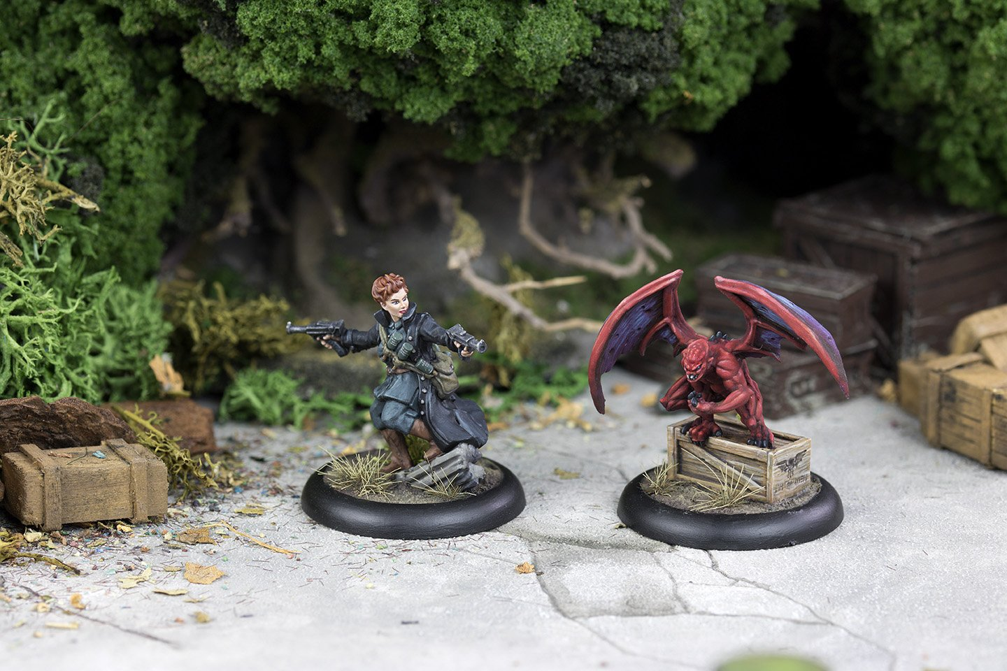 Achtung! Cthulhu Miniatures - Ariane Unleashed
