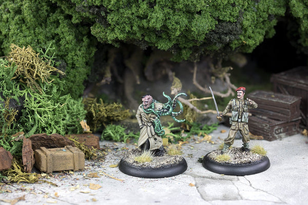 Achtung! Cthulhu Miniatures - Allied Heroes Liebowitz and McMasters