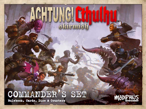 Achtung! Cthulhu Skirmish: Commander's Set - Modiphius Entertainment