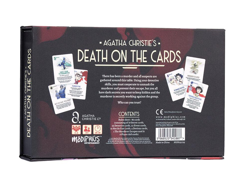 Agatha Christie's Death on the Cards - Modiphius Entertainment
