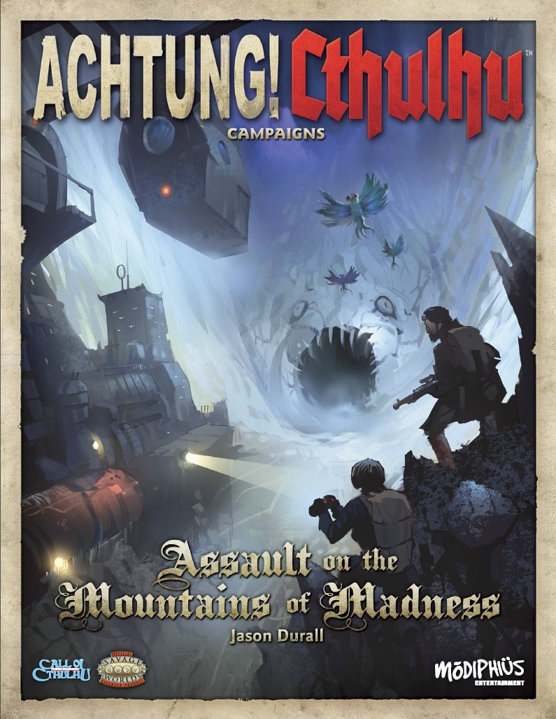 Achtung! Cthulhu - Assault on the Mountains of Madness - PDF