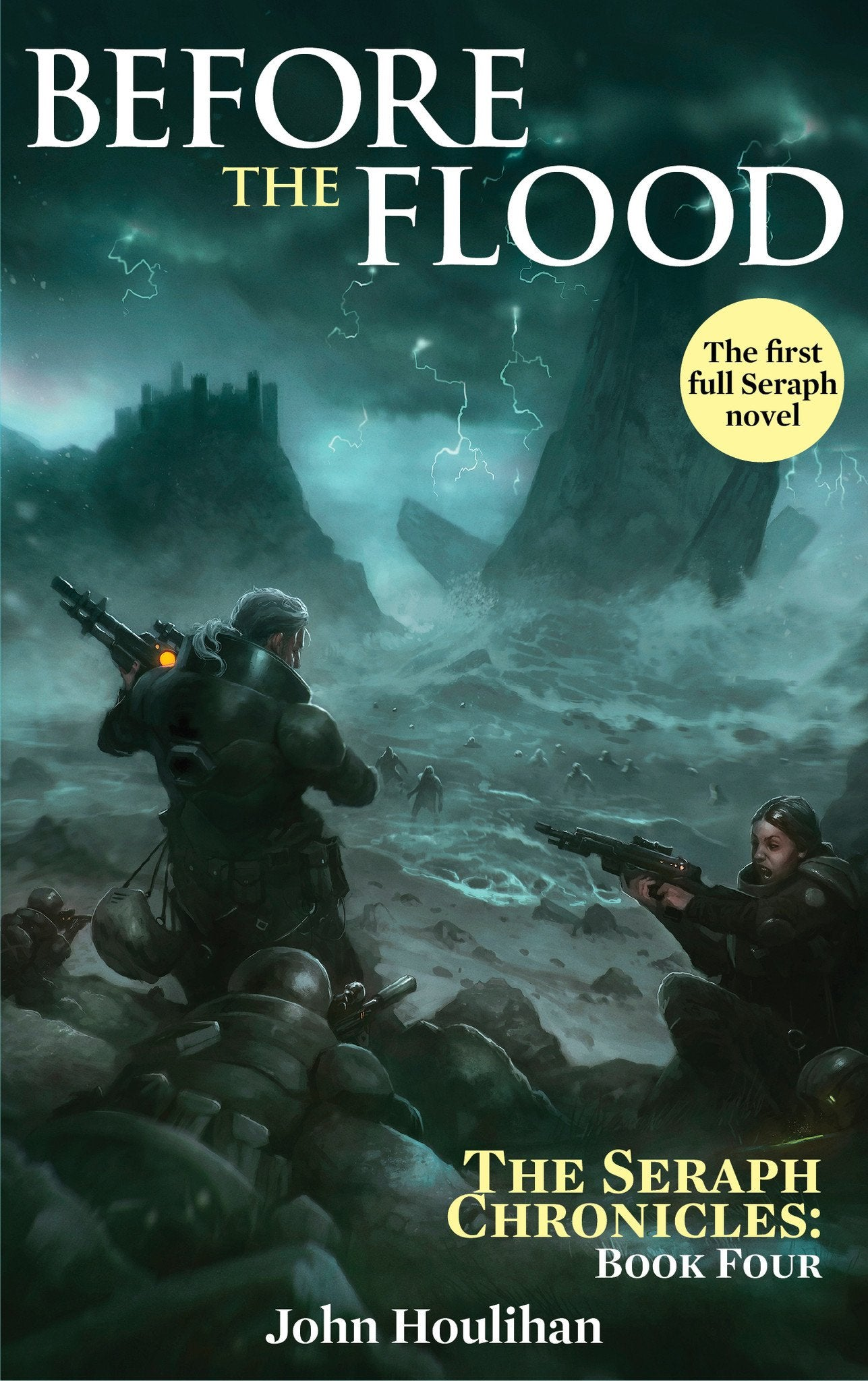 Achtung! Cthulhu Fiction: The Seraph Chronicles Vol 4: Before the Flood - PDF