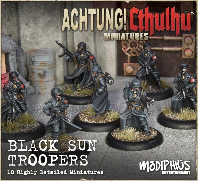 Achtung! Cthulhu Skirmish: Army Bundle 2 - Black Sun