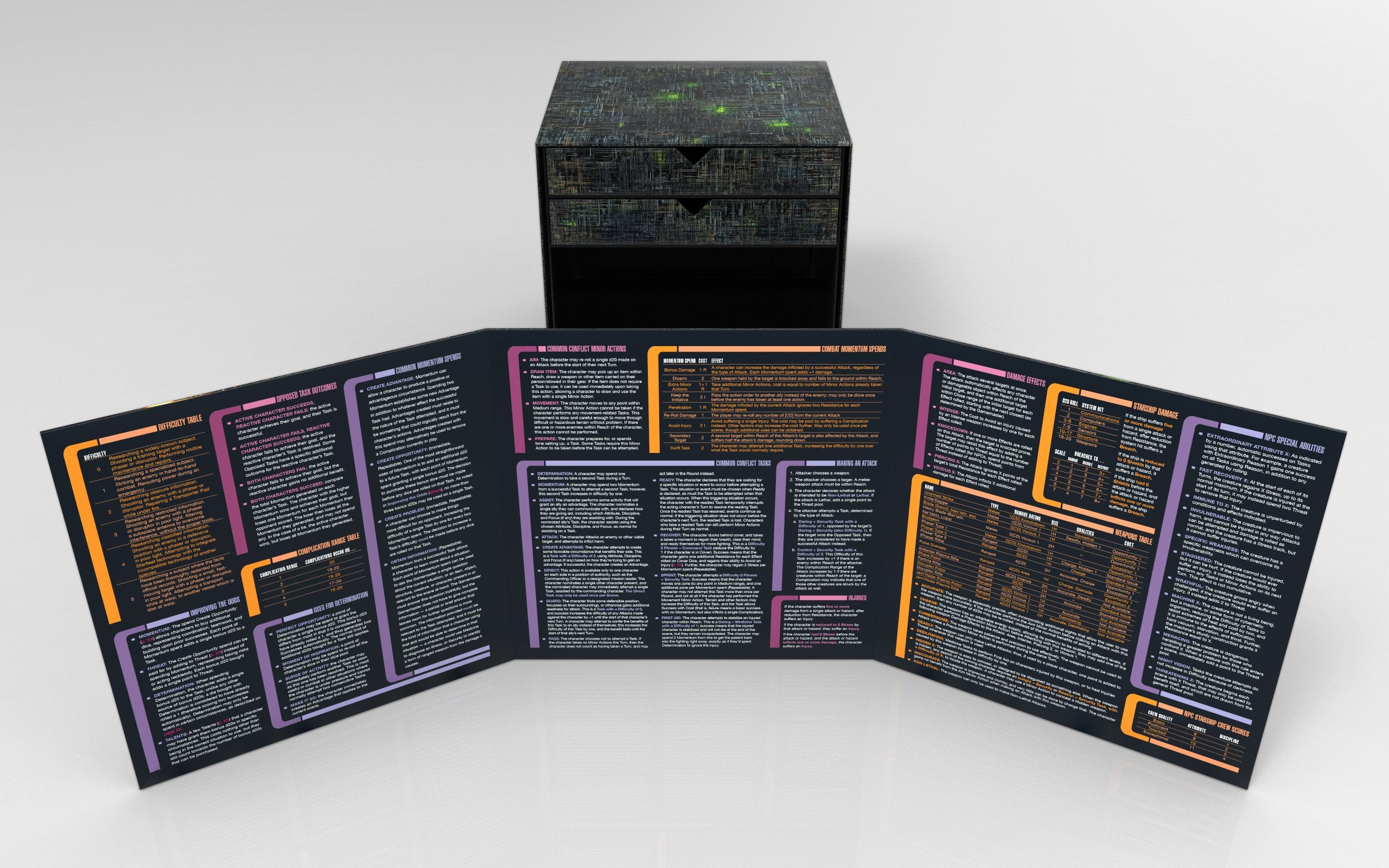 Star Trek Adventures Borg Cube Collector's Edition Box Set