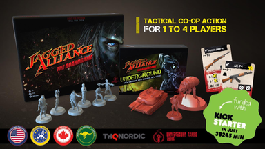 Jagged Alliance: The Boardgame - Modiphius Entertainment