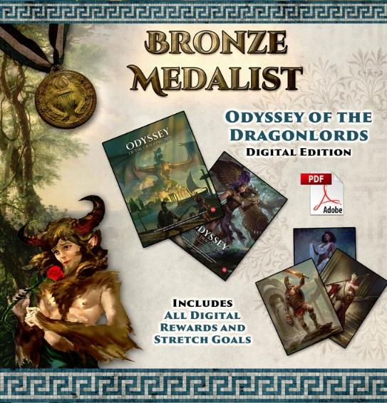 Odyssey of the Dragonlords: Bronze Medallist Pledge