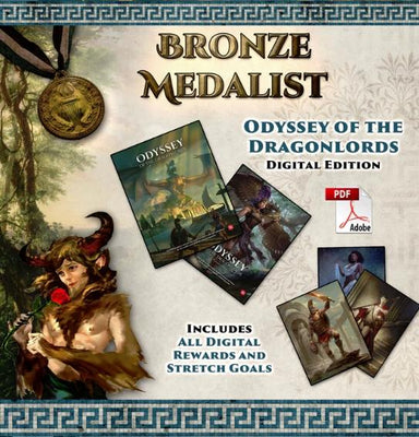 Odyssey of the Dragonlords: Bronze Medallist Pledge - Modiphius Entertainment