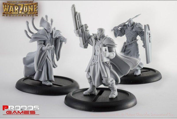 Mutant Chronicles Miniatures: Brotherhood set