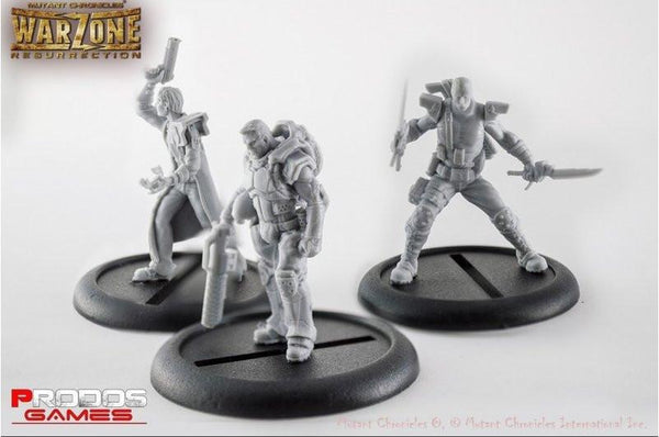 Mutant Chronicles Miniatures: Capitol set