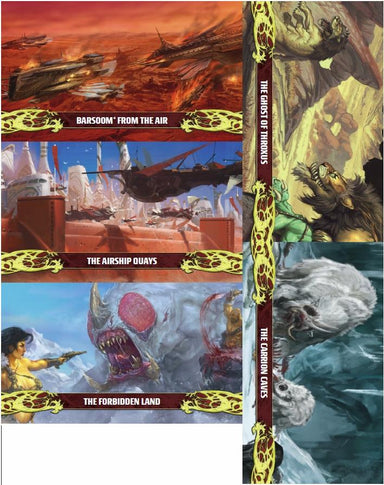 John Carter of Mars: Landscape and Location Card Deck - PDF