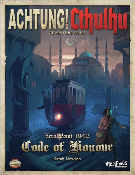 Achtung! Cthulhu - Zero Point - Code of Honour (Savage Worlds Edition) - PDF