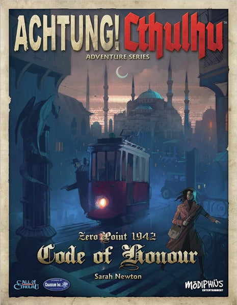 Achtung! Cthulhu - Zero Point - Code of Honour - PDF