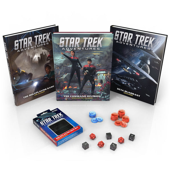 Star Trek Adventures: Commander's Bundle