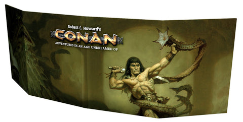 Conan RPG GM Screen -  Modiphius Entertainment