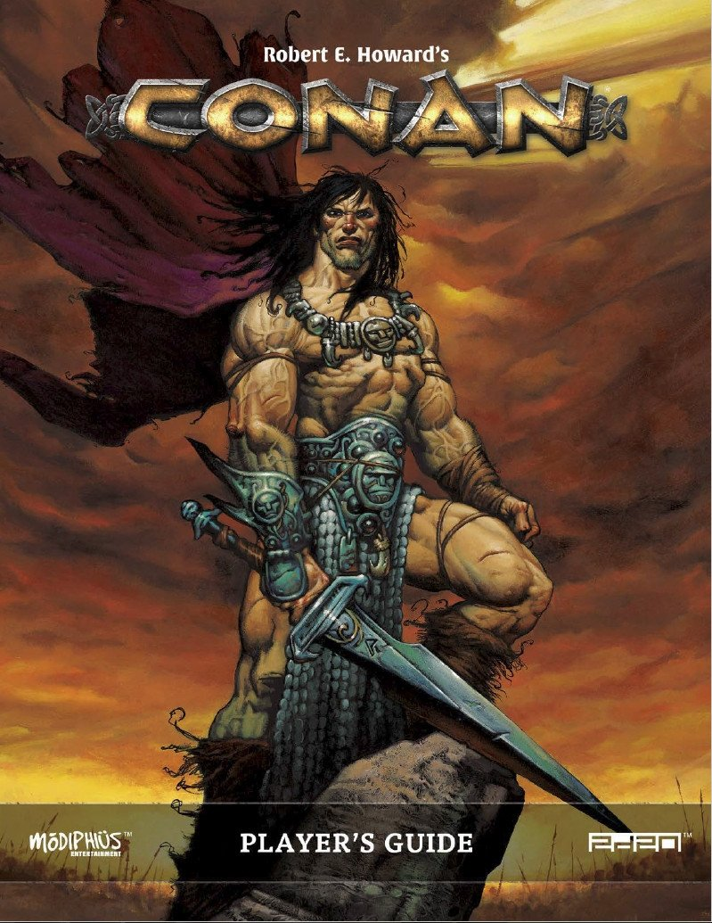 Conan Players Guide: Conan RPG (T.O.S.) -  Modiphius Entertainment