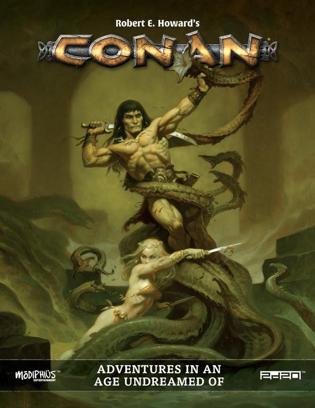 Robert E Howard's Conan Roleplaying Game - Core Book - PDF