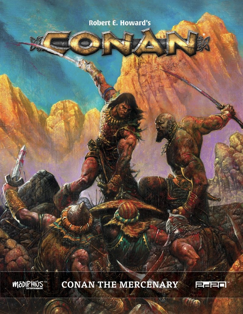 Conan The Mercenary: Conan RPG (T.O.S.) -  Modiphius Entertainment