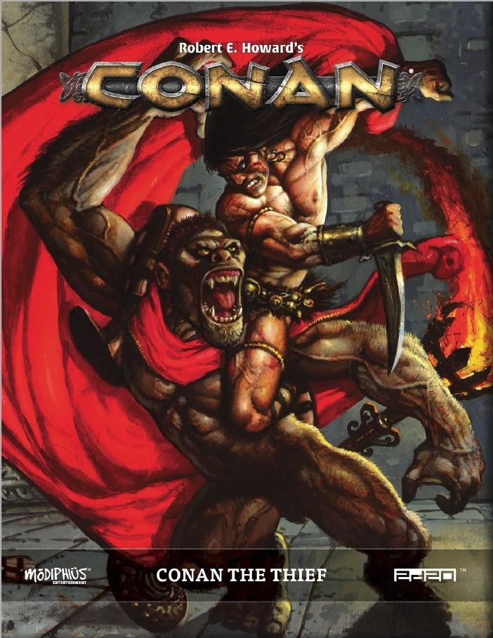 Conan The Thief: Conan RPG -  Modiphius Entertainment