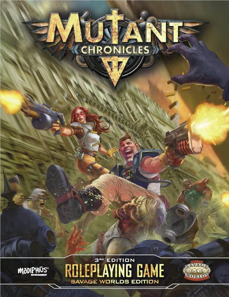 Mutant Chronicles 3rd Edition Core Book Savage Worlds Edition - PDF