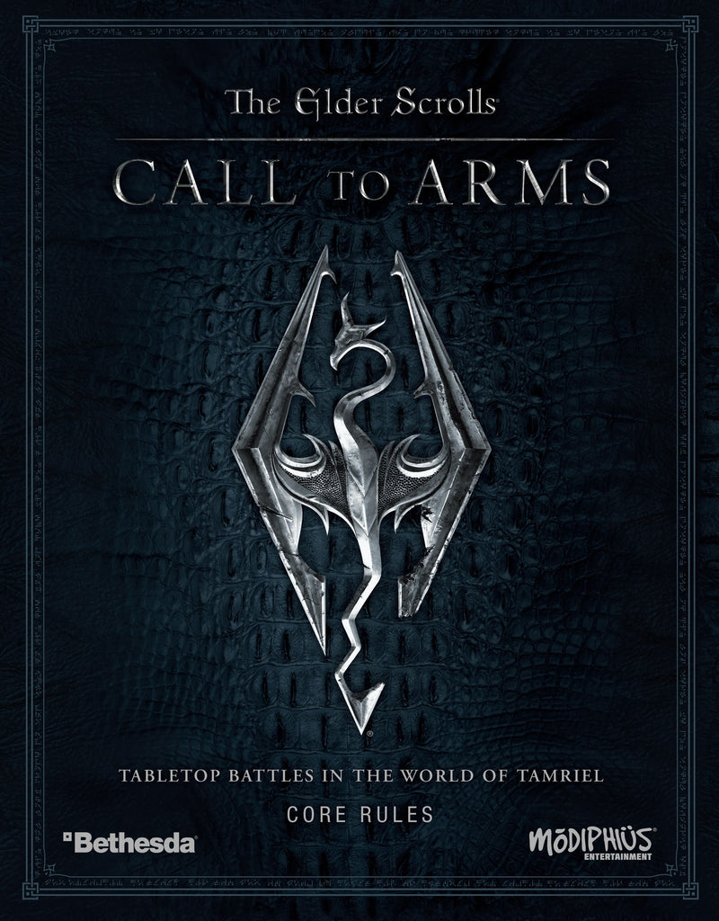 The Elder Scrolls Call To Arms Core Rules Box Set