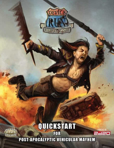 Devil's Run RPG Quickstart - PDF