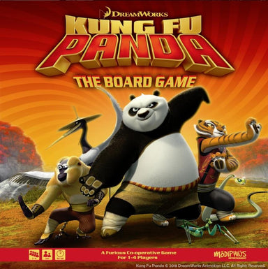Kung Fu Panda Boardgame Rules (Various Languages) FREE - PDF - Modiphius Entertainment