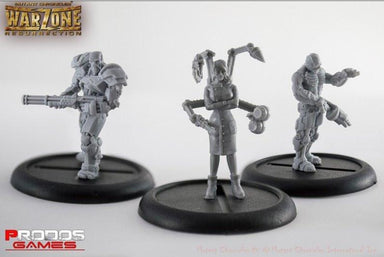 Mutant Chronicles Miniatures Cybertronic set