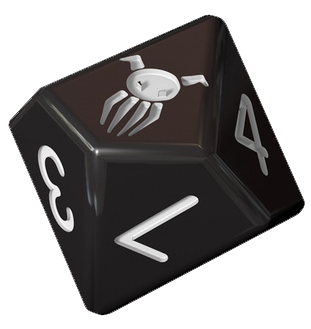 Achtung! Cthulhu: Secret War dice