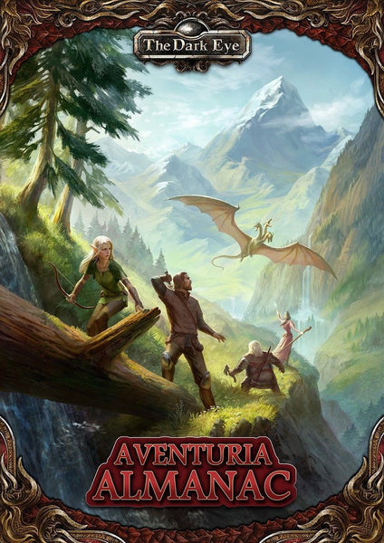 The Dark Eye: Aventuria Almanac Hardback - Modiphius Entertainment