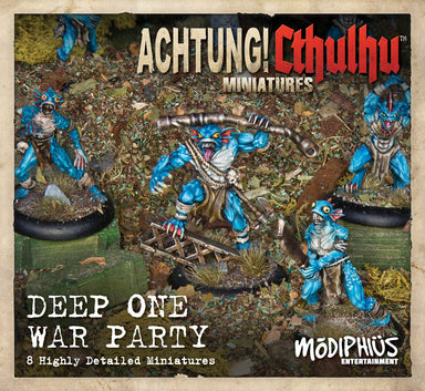 Achtung! Cthulhu Skirmish - Deep Ones War Party unit pack - Modiphius Entertainment