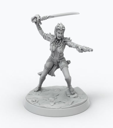 John Carter Miniatures: Alternative Dejah Thoris