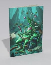 Xmas Card: Drunk Cthulhu - Modiphius Entertainment