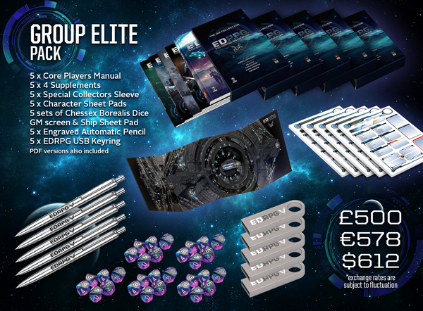 Elite Dangerous RPG Group Elite Pack