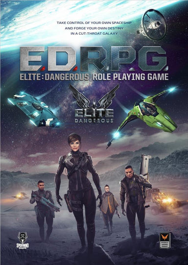Elite Dangerous RPG core book - PDF - Modiphius Entertainment