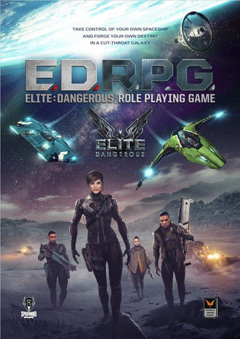 Elite Dangerous RPG core book - Modiphius Entertainment