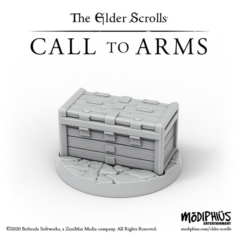 The Elder Scrolls Call to Arms - Treasure Chests Upgrade Set